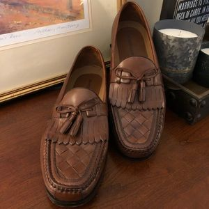 Johnston and Murphy tassel loafers